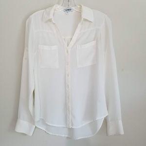 Express Women's Off-White Portofino Shirt